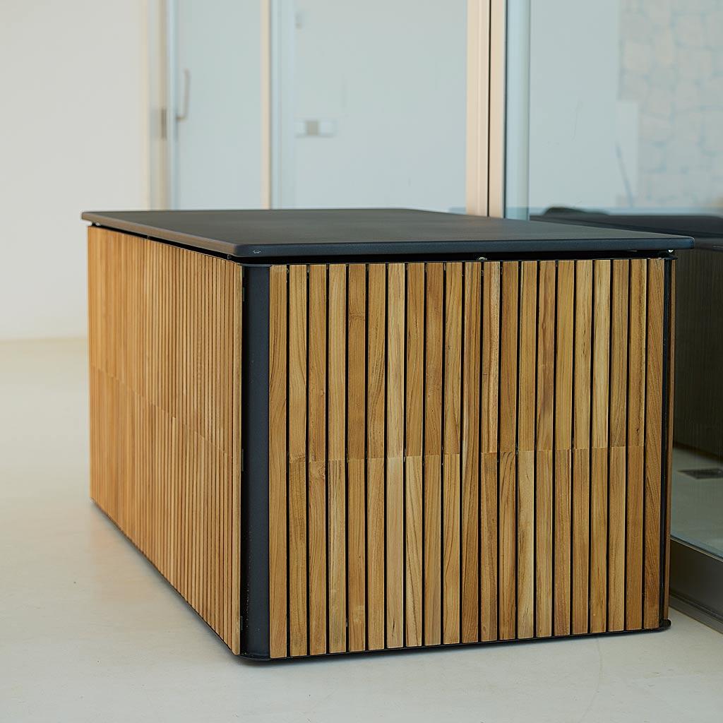 Combine Garden Cushion Box Is A MODERN Garden Cushion Box In HIGH QUALITY Garden Furniture MATERIALS By Cane-line GARDEN FURNITURE.