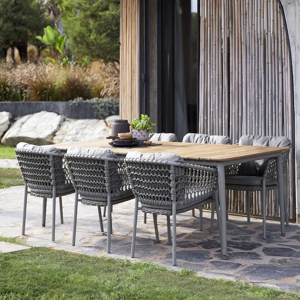Core Table & Ocean GARDEN DINING CHAIR Is A MODERN Outdoor CARVER Chair In LUXURY Exterior Furniture MATERIALS By Cane-line ALL-WEATHER Outdoor FURNITURE